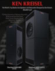 Ken Kreisel DXD subwoofer systems,