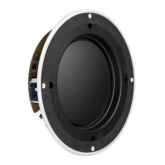 KEF in-ceiling speakers, KEF Ci200TRb in-ceiling woofer, the little audio company