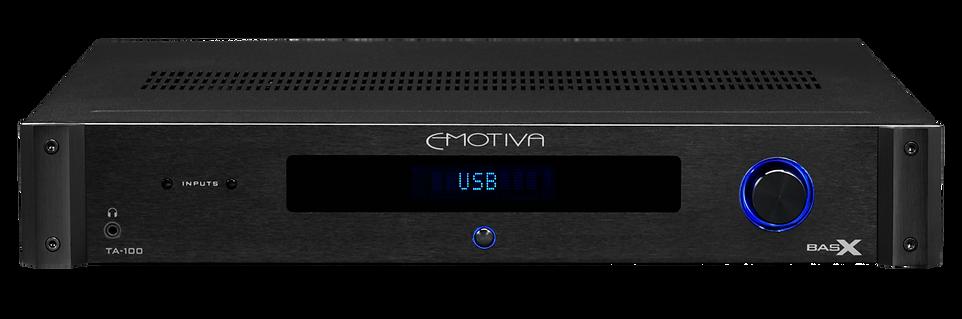 Emotiva TA-100 integrated amplifier, the little audio company,