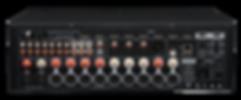 rear panel of the Emotiva XMC-1 home theatre processor,