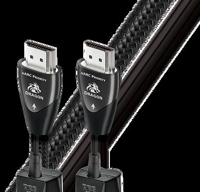 AudioQuest Dragon e-ARC priority HDMI cable,