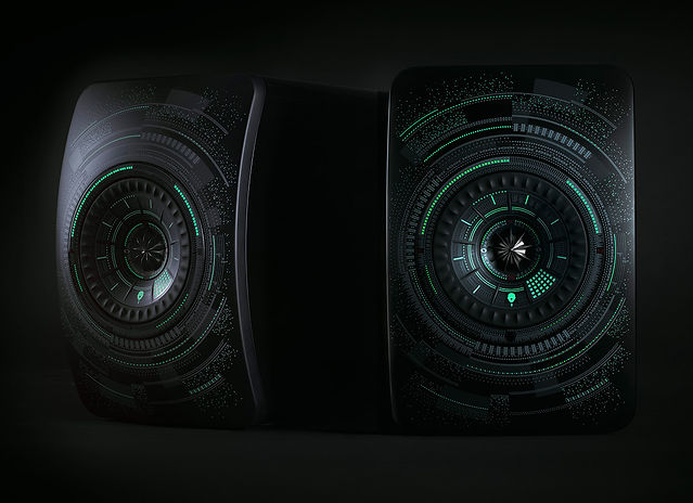KEF LS50 Wireless, wireless LS50, active LS50, bookshelf speakers, compact speakers, TIDAL streaming, Bluetooth speaker, network connectivity, UniQ array, active speakers, the little audio company, LS50 Nocturne,