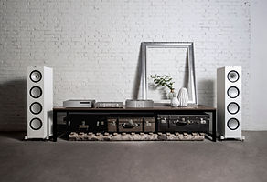 KEF Q Series loudspeakers at the little audio company,