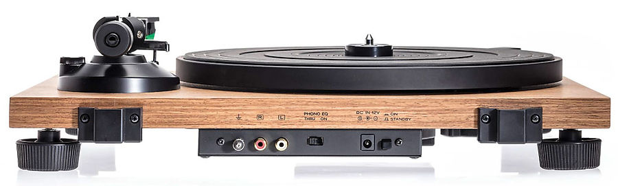 back panel of the Audio Technica AT-LP40W turntable,