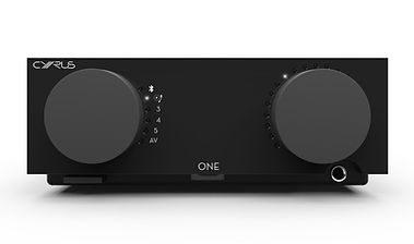 click here for more on the Cyrus One amplifier,