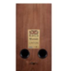 rear panel of the Wharfedale Linton loudspeakers,