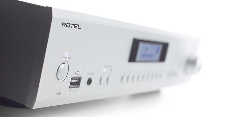 Rotel A14 Mk2 integrated amplifier