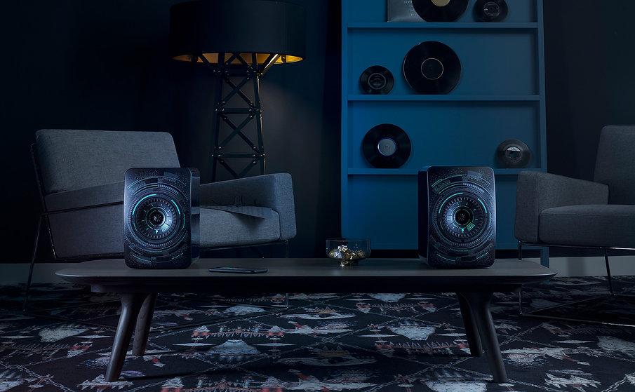 LS50 Wireless Nocturne, KEF speakers, KEF in birmingham,