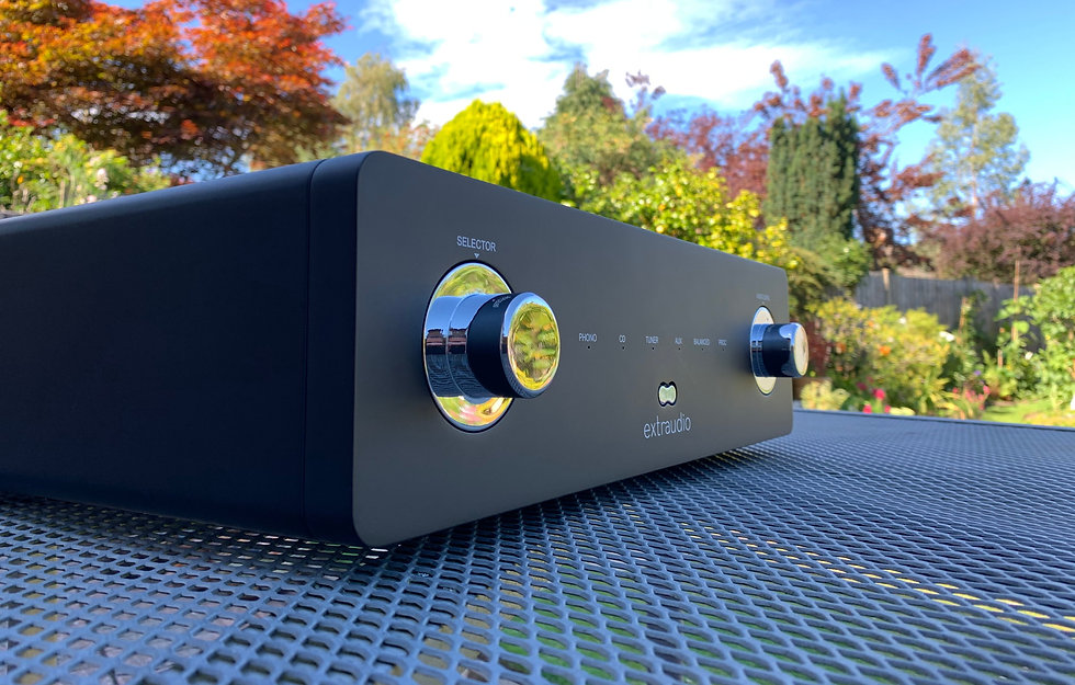 Extraudio X250t stereo amplifier