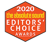 the absolute sound Editor's Choice Award,
