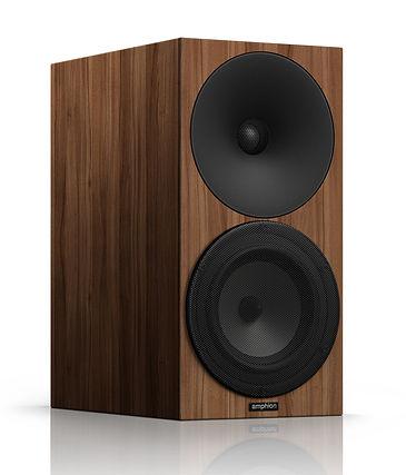 Amphion Argon 3S speakers in walnut,