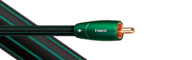 audioquest forest, audioquest coax cables,
