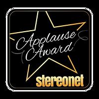 StereoNet Hegel V10 Applause Award,