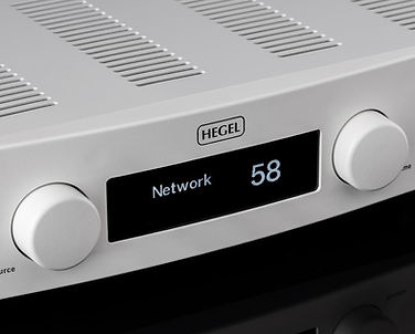 Hegel Rost integrated amplifier, Hegel Rost in Birmingham, Hegel Rost in the Midlands, streaming amplifier,