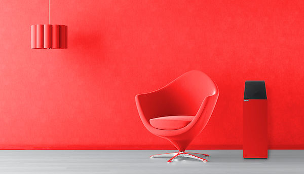Larsen in red,