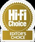 hifi choice editors choice award,