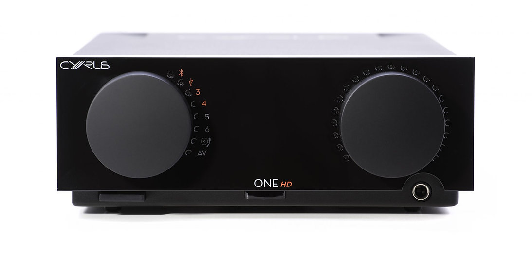 Cyrus One HD Bluetooth amplifier at the little audio company, compact amplifier, the little audio company, bluetooth amplifier,
