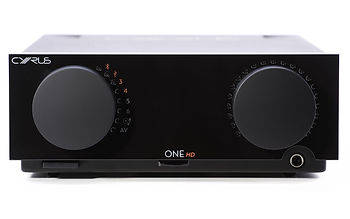 click here for more on the Cyrus One HD amplifier,