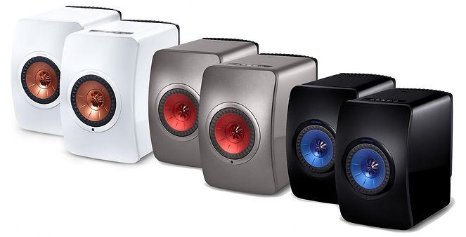 KEF LS50 wireless speakers, KEF LS50 Wireless loudspeakers, LS50 active, wireless LS50, powered speakers, TIDAL streaming, DSP control, app control, network speaker, hi fi loudspeakers, the little audio company, KEF loudspeakers, KEF speakers, KEF in birmingham,
