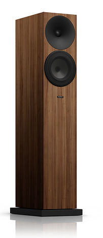 Amphion Argon 3LS speakers in walnut,