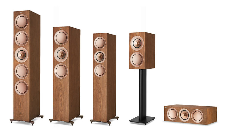 KEF R Series loudspeakers at the little audio company, KEF R Series in Birmingham, new KEF R Series,