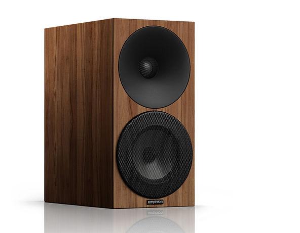 Amphion Argon 0 speakers in all walnut,