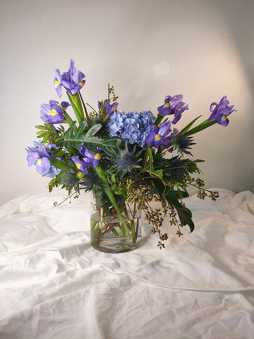 Floral in Glass - Purple Bandai