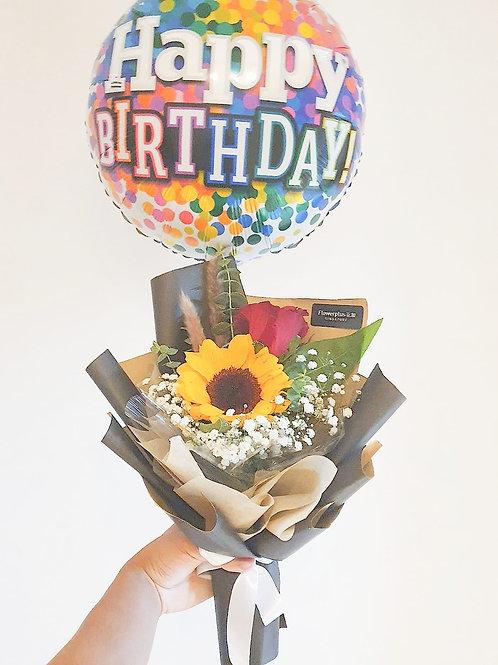 Daily Bouquet - SUNFLOWER BIRTHDAY BOUQUET