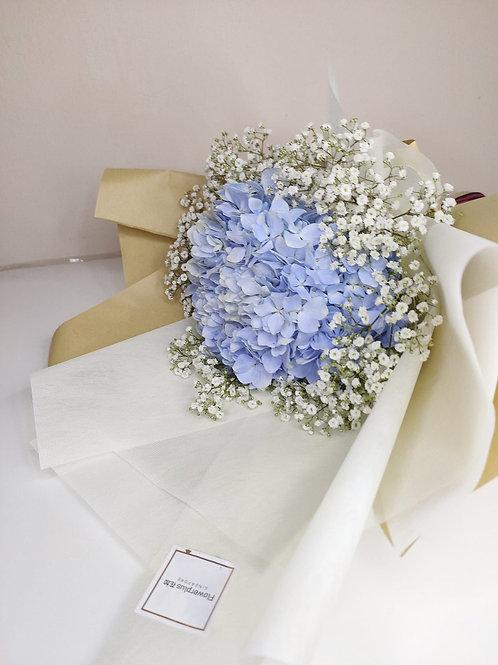 Daily Bouquet - BLUE HYDRNGEA BOUQUET