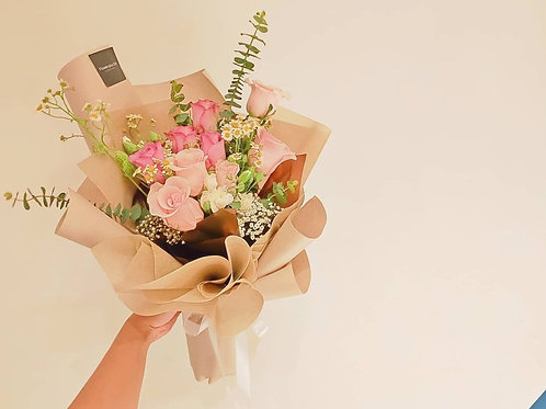 Daily Bouquet - Pink Mousse