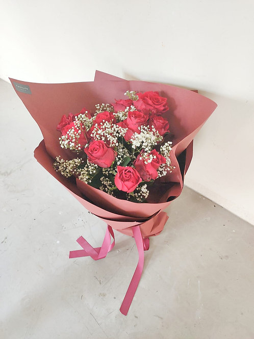 Daily - Red Romance Bouquet