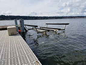 Boat lift installation