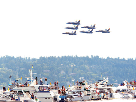Seafair is near
