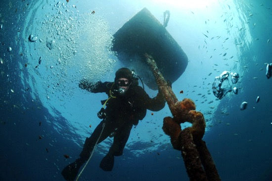 Mooring Buoy Retrieval & Reconnect