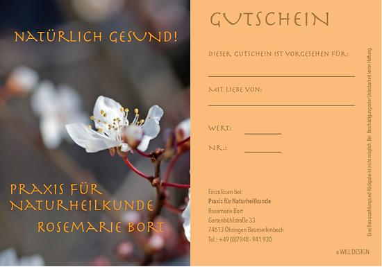 Naturheilpraxis Rosemarie Bort Baumerlenbach Gutschein kaufen