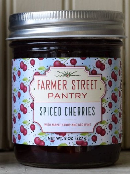 Spiced Cherries
