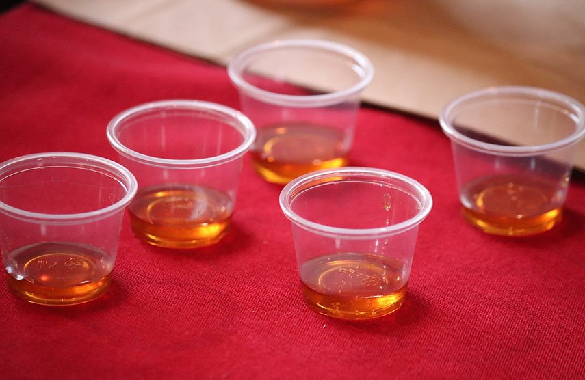syrup samples