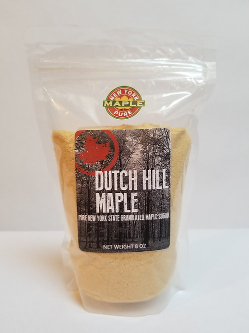 8 oz Granulated Maple Sugar