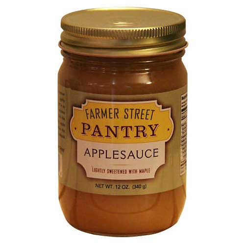 Applesauce (Sweetened with Maple)