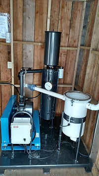 vacuum pump for sap extraction