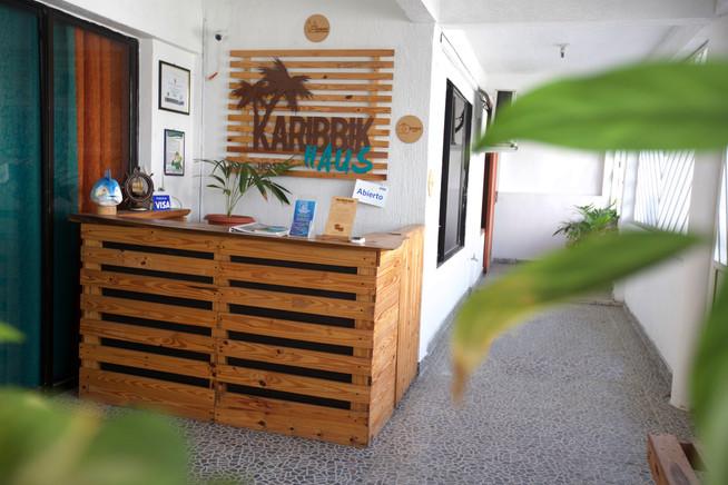 Recepción Karibbik Haus