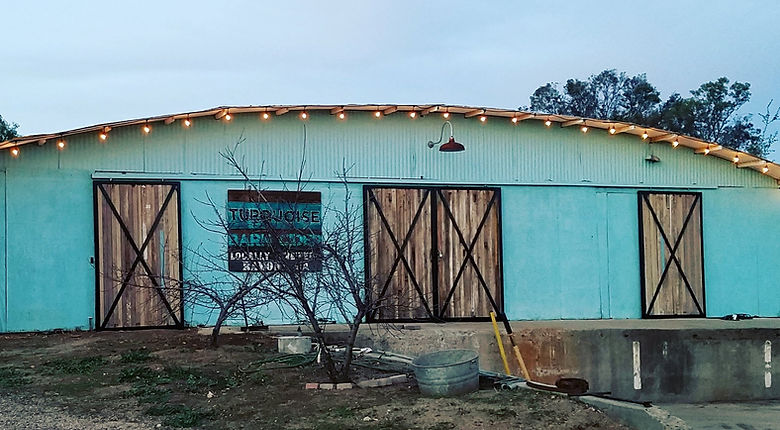 The famous Turquoise Barn