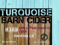 Apple Pomegranate Hard Cider
