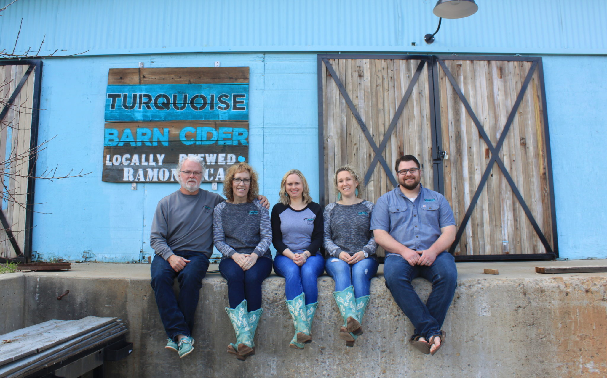 Turquoise Barn Cider Team Photo