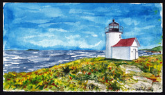 Curtis Island Lighthouse, Maine