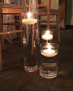 Aisle Floating Candleholders