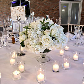 Colshaw Hall Wedding Centrepiece