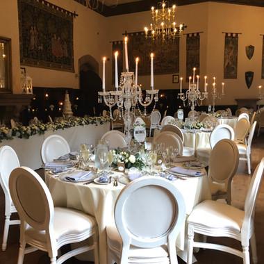 Peckforton Castle Wedding Flowers