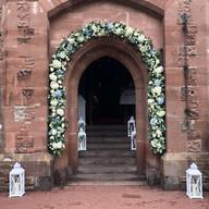 Peckforton Castle Floral Archway