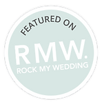 as featured on rock my wedding